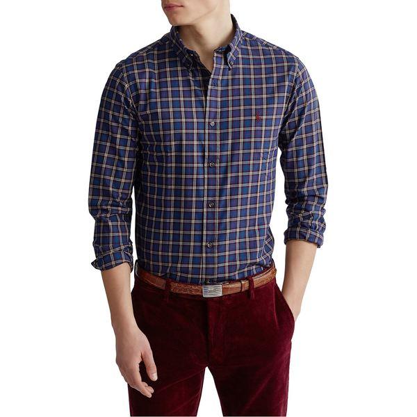 ラルフローレン メンズ シャツ トップス Classic-Fit Plaid Twill Shirt Blue Multi