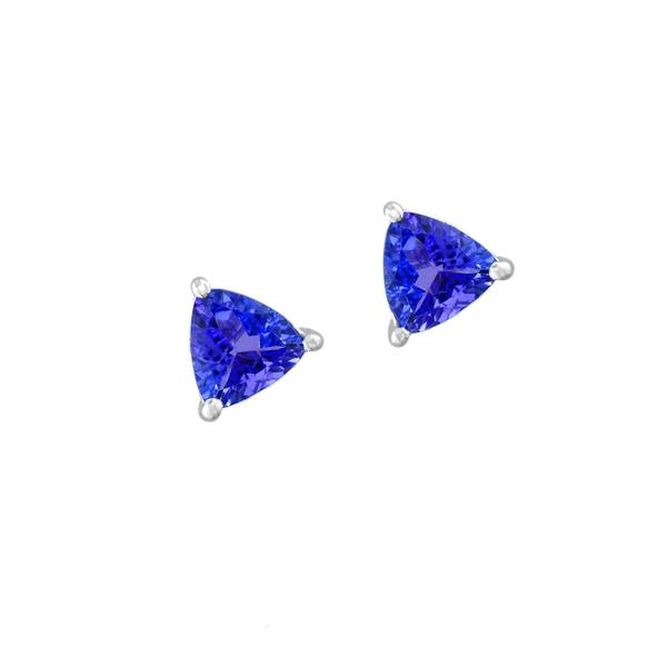 エフィー レディース ピアス&イヤリング アクセサリー 14K White Gold Tanzanite Stud Earrings Blue