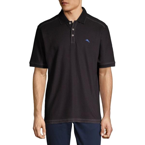 トッミーバハマ メンズ ポロシャツ トップス Emfielder 2.0 Short-Sleeve Polo Black