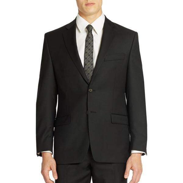 ラルフローレン メンズ ジャケット&ブルゾン アウター Ultraflex Classic-Fit Wool Suit Separate Jacket Black