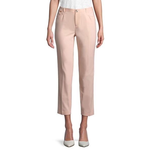 カールラガーフェルド レディース カジュアルパンツ ボトムス Zip-Trim Skinny Crop Pants Sherbet