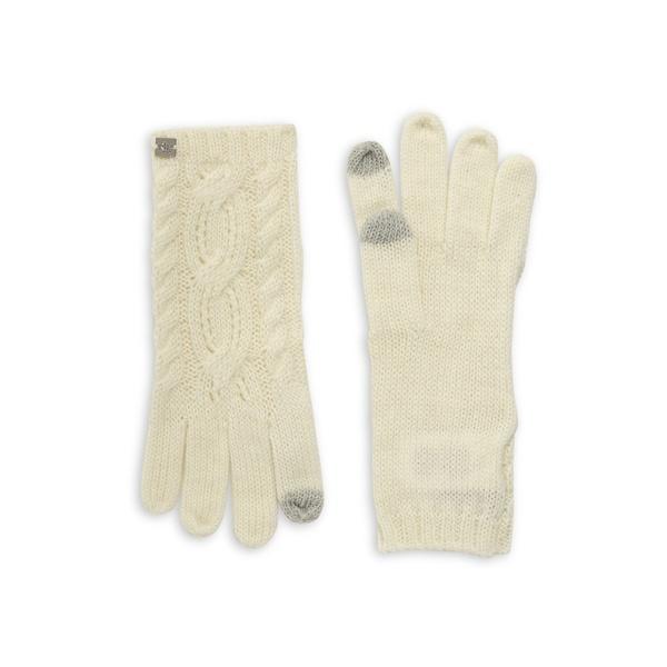 ラルフローレン レディース 手袋 アクセサリー Pointelle Cable-Knit Touch Gloves Cream