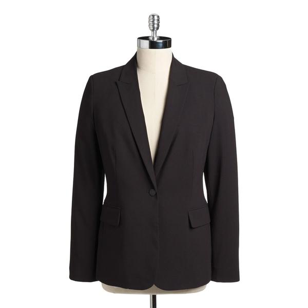 カルバンクライン レディース コート アウター One Button Jacket Black