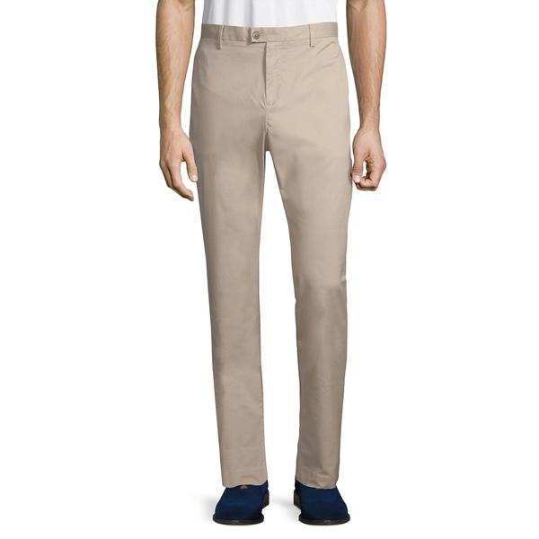 カルバンクライン メンズ カジュアルパンツ ボトムス The Refined Stretch Pants Wheat