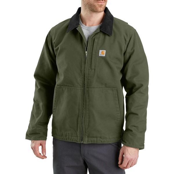 カーハート メンズ ジャケット&ブルゾン アウター Carhartt Men's Full Swing Armstrong Jacket (Regular and Big & Tall) Moss