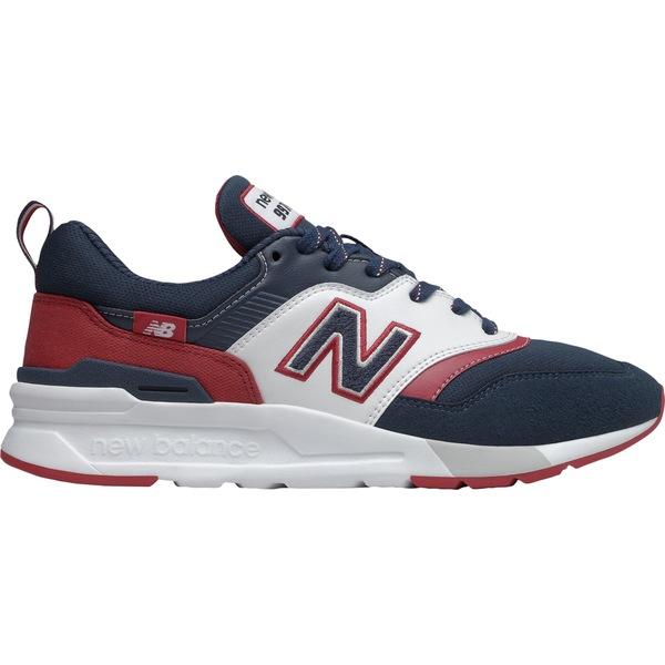 ニューバランス メンズ スニーカー シューズ New Balance Men's 997 H Shoes Navy/Red/White