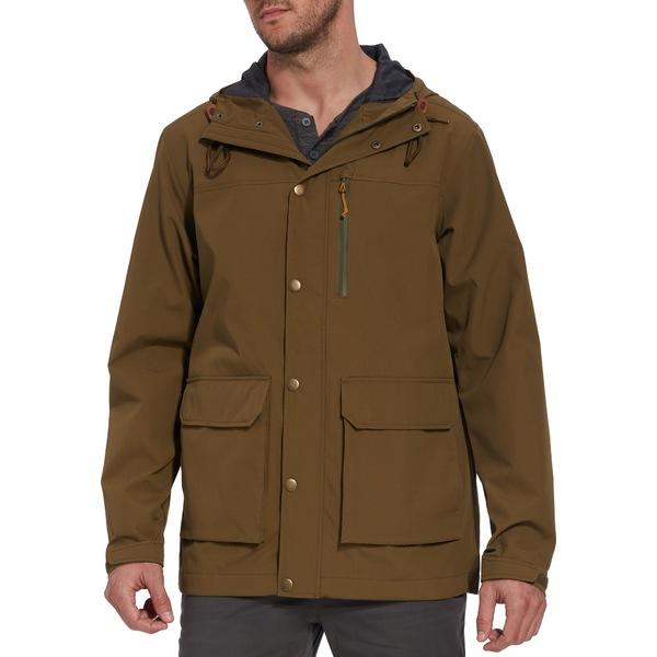 アルパインデザイン メンズ ジャケット&ブルゾン アウター Alpine Design Men's National Forest 2 Layer Rain Parka MilitaryOlive