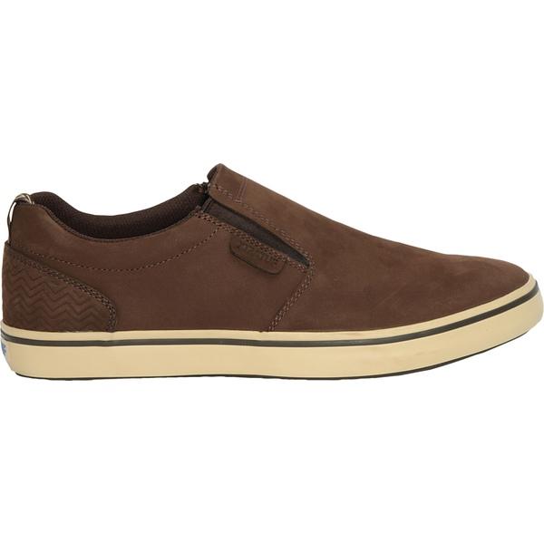 エクストラタフ メンズ スニーカー シューズ XTRATUF Men's Sharkbyte Casual Shoes Brown