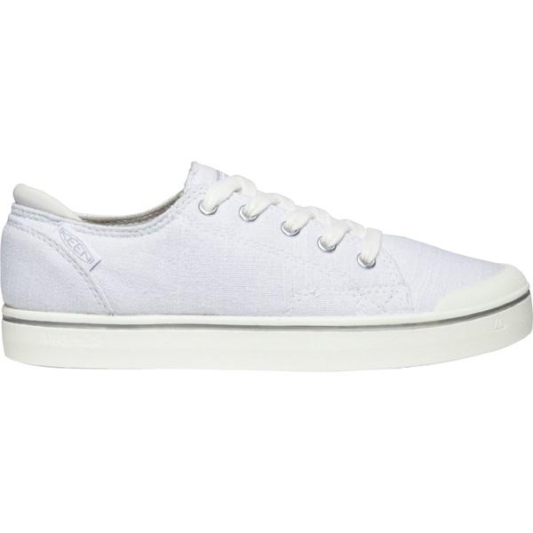 キーン レディース スニーカー シューズ KEEN Women's Elsa IV Sneakers White/StarWhite