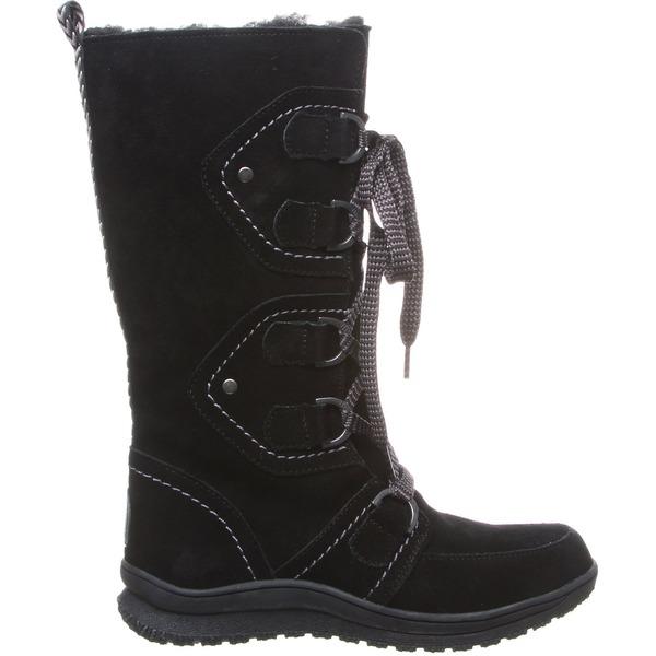 ベアパウ レディース ブーツ&レインブーツ シューズ BEARPAW Women's Justice Winter Boots Black