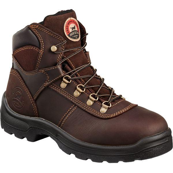 """アイリッシュ・セッター メンズ ブーツ&レインブーツ シューズ Irish Setter Men's 6"""" Direct Attach Steel Toe Work Boots Brown"""