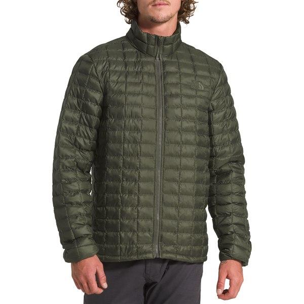 ノースフェイス メンズ ジャケット&ブルゾン アウター The North Face Men's ThermoBall Eco Soft Shell Jacket NewTaupeGreenMatte