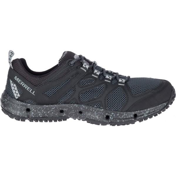 メレル メンズ ブーツ&レインブーツ シューズ Merrell Men's Hydrotrekker Hiking Shoes Black