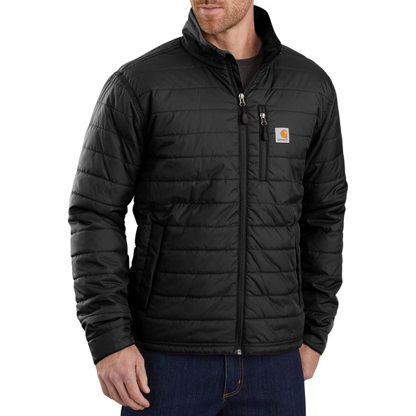 カーハート メンズ ジャケット&ブルゾン アウター Carhartt Men's Gilliam Insulated Jacket (Regular and Big & Tall) Black