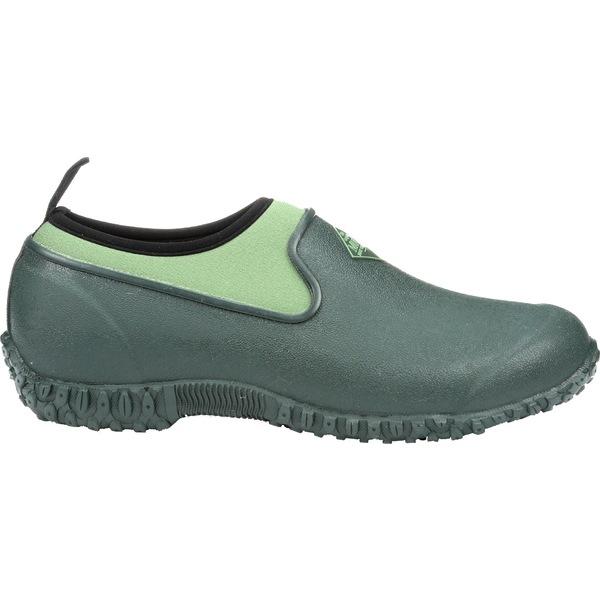 ムックブーツ レディース ブーツ&レインブーツ シューズ Muck Boots Women's Muckster II Low Waterproof Shoes Green