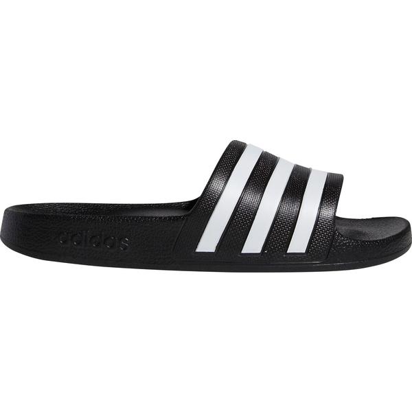 アディダス レディース サンダル シューズ adidas Women's Adilette Aqua Slides Black/White