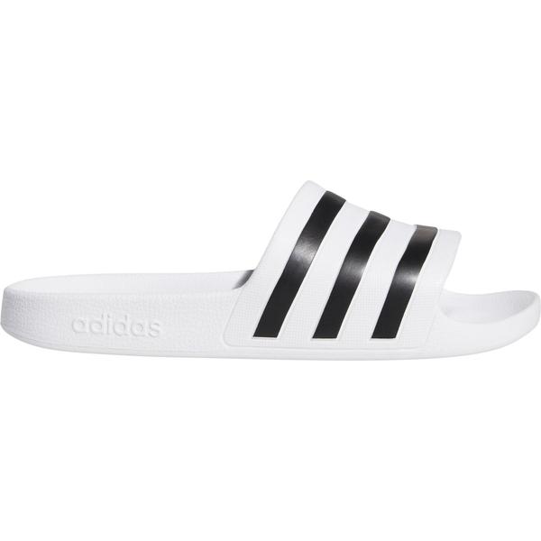 アディダス レディース サンダル シューズ adidas Women's Adilette Aqua Slides White/Black