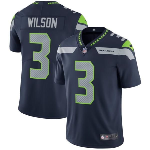 ナイキ メンズ ユニフォーム トップス Russell Wilson Seattle Seahawks Nike Vapor Untouchable Limited Player Jersey Gray