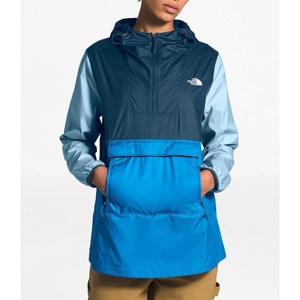 ノースフェイス レディース ジャケット&ブルゾン アウター Colorblock Rain Resistant Fanorak 2.0 Clear Lake Blue/Blue Wing/Angel Falls Blue