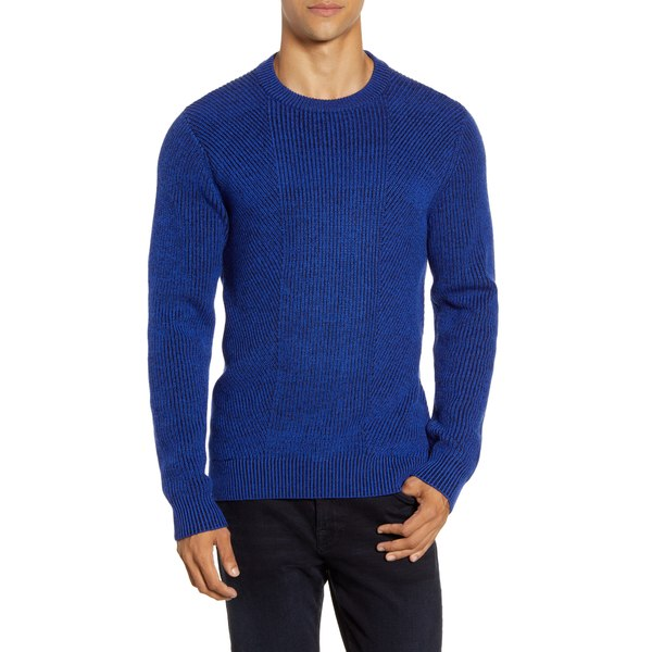 Mens Ex Crew Clothing 1//4 Zip Sweatshirt Crew Neck Cable Knit Pullover Sweater