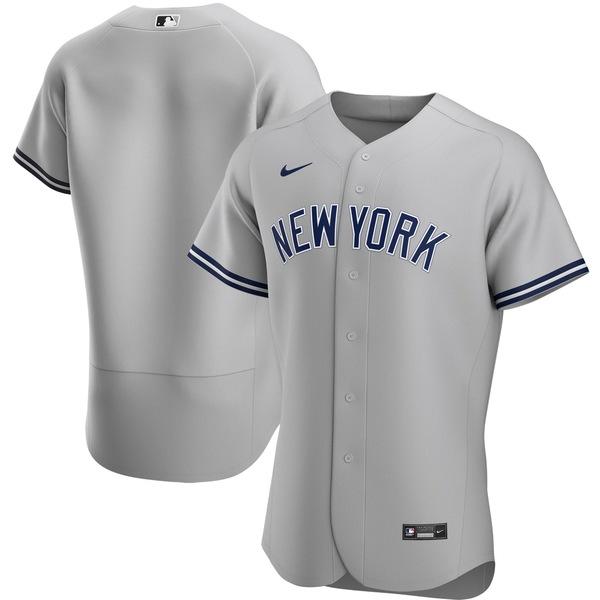 ナイキ メンズ ユニフォーム トップス New York Yankees Nike Home 2020 Authentic Team Jersey White