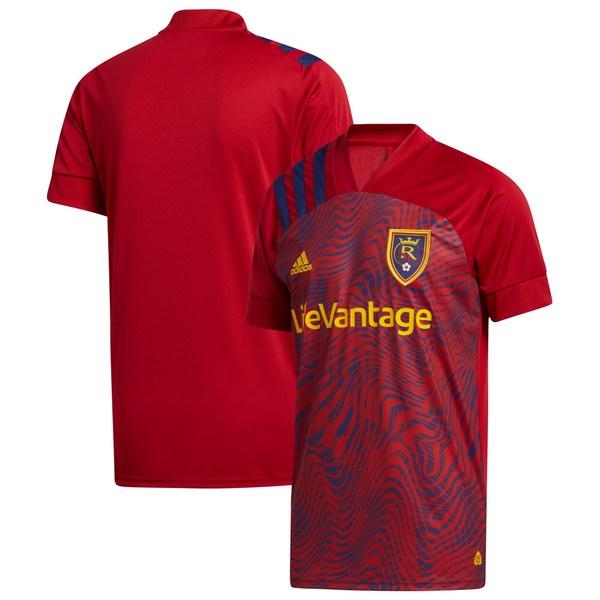アディダス メンズ ユニフォーム トップス Real Salt Lake adidas 2020 Primary Replica Blank Jersey Red