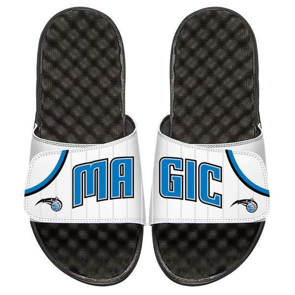 アイスライド メンズ サンダル シューズ Orlando Magic ISlide Home Jersey Split Slide Sandals White