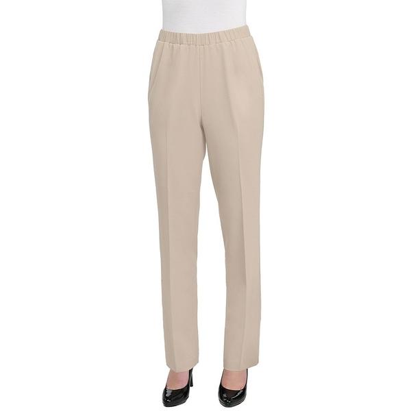 アリソンダーレイ レディース カジュアルパンツ ボトムス Straight-Leg Pull-on Pants Light Khaki