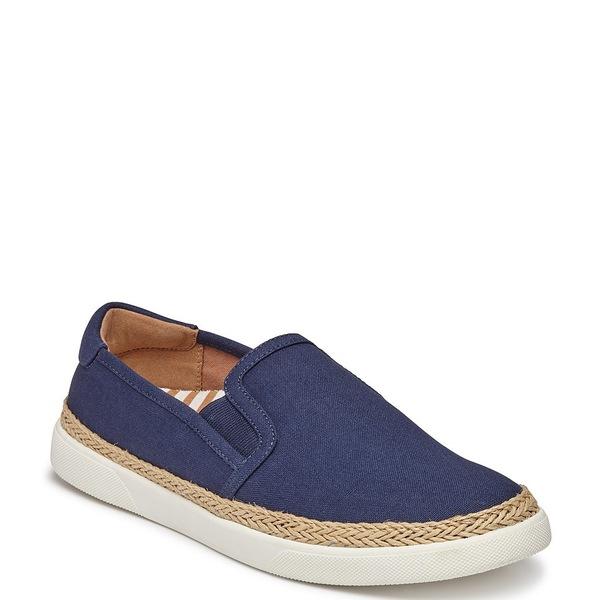 バイオニック レディース スニーカー シューズ Rae Canvas Slip-On Sneakers Deep Blue