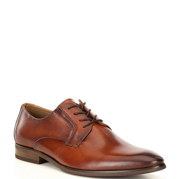 アルド メンズ ドレスシューズ シューズ Men's Benadien Plain Toe Leather Oxfords Cognac