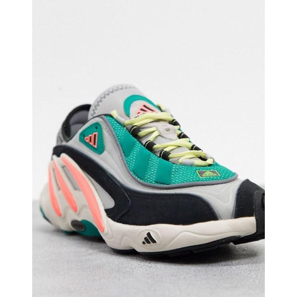 アディダスオリジナルス メンズ スニーカー シューズ adidas Originals FYW 98 sneakers in gray Gy1 - gray 1