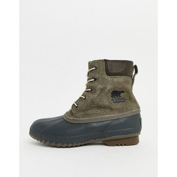 ソレル メンズ ブーツ&レインブーツ シューズ SOREL Cheyanne II boots in gray Gray