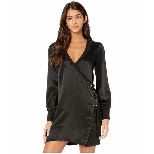 BCBジェネレーション レディース トップス ワンピース Black 全商品無料サイズ交換 BCBジェネレーション レディース ワンピース トップス Day Side Wrap Dress TLC6235697 Black