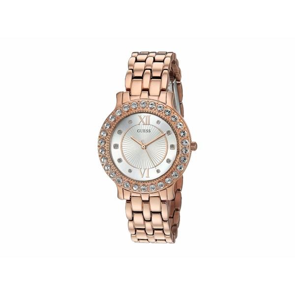 ゲス レディース 腕時計 アクセサリー W1062L3 Gold