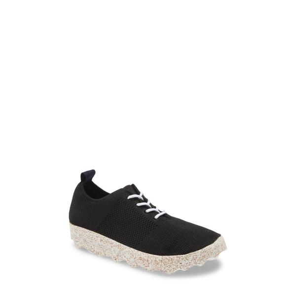エーエスポルトゥゲーズ バイ フライ ロンドン レディース スニーカー シューズ Code Platform Sneaker Black Fabric/ White Sole
