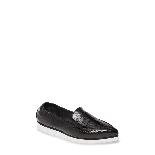 エージーエル レディース スリッポン・ローファー シューズ Micro Pointed Toe Loafer Black Glammy