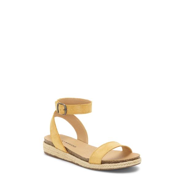 ラッキーブランド レディース サンダル シューズ Garston Espadrille Sandal Golden Rod Leather