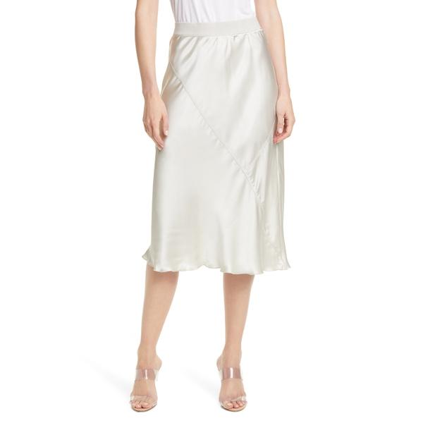 エーティーエム レディース スカート ボトムス Pull-On Silk Skirt Pearl