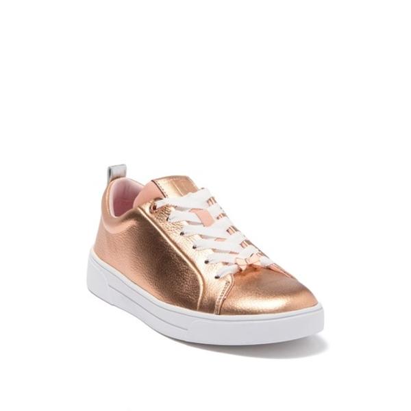 テッドベーカー レディース シューズ スニーカー ROSE GOLD 在庫一掃売り切りセール Leather マーケティング 全商品無料サイズ交換 Metallic Gielli Sneaker