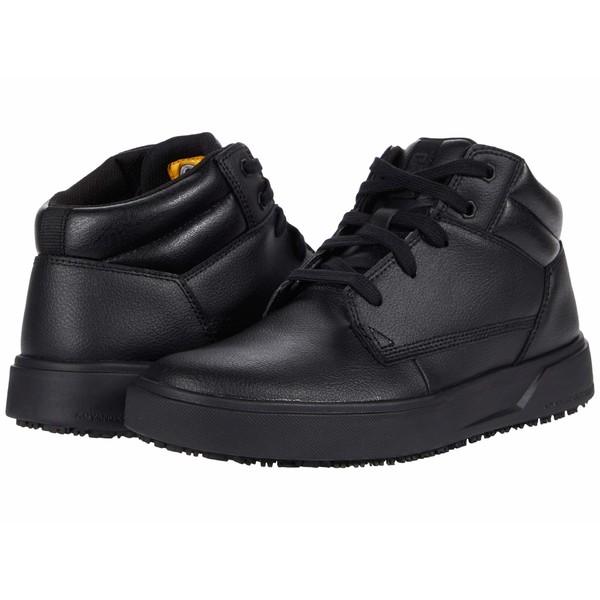 キャタピラー メンズ ブーツ&レインブーツ シューズ ProRush SR+ Chukka Black Action Leather