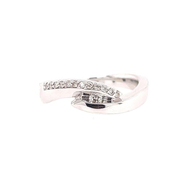 【正規通販】 ブルーニング レディース リング アクセサリー 14K Diamond White Gold Wrap Diamond White Wrap Ring SILVER, 新潟市:ff812375 --- kalpanafoundation.in