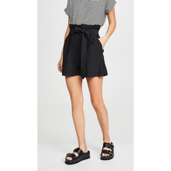 スリーワンフィリップリム レディース カジュアルパンツ ボトムス Paperbag Shorts Black