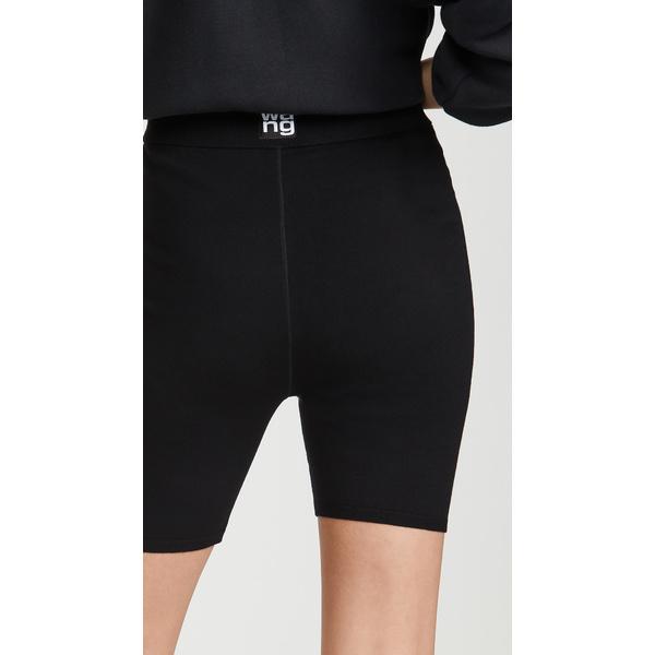 アレキサンダー・ワン レディース カジュアルパンツ ボトムス Foundation Bodycon Bike Shorts Black
