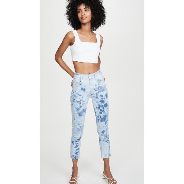 ペイジ レディース デニムパンツ ボトムス Hoxton Slim Jeans Indigo Tie Dye