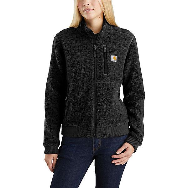 カーハート レディース ジャケット&ブルゾン アウター Carhartt Women's High Pile Fleece Jacket Black
