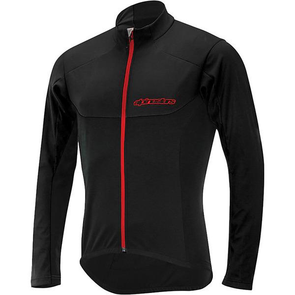 アルパインスターズ メンズ ジャケット&ブルゾン アウター Alpine Stars Men's Hurricane Functional Jacket Black / Red