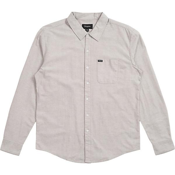 ブリクストン メンズ シャツ トップス Brixton Men's Charter Oxford LS Shirt Grey