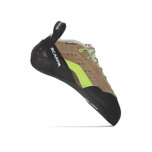 スカルパ メンズ ハイキング スポーツ Scarpa Men's Maestro Mid Climbing Shoe Stone/Light Grey