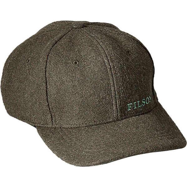 フィルソン レディース 帽子 アクセサリー Filson Wool Logger Cap Forest Green