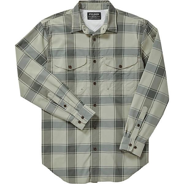 フィルソン メンズ シャツ トップス Filson Men's Twin Lakes Sport Shirt Sea Green / Lichen Plaid